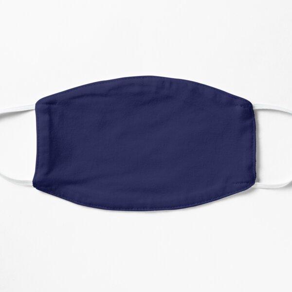 Plain Simple Navy Blue Solid Block Color Mask