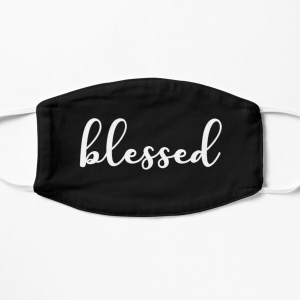 Blessed Thankful Positive Quote Mask