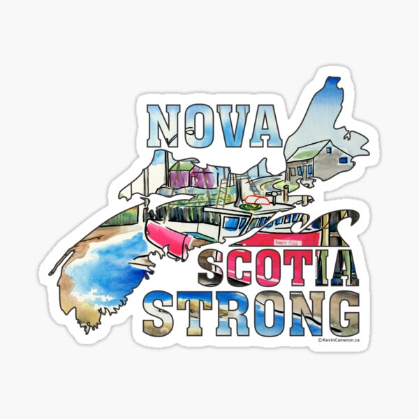 Nova Scotia Strong Nova Scotia    Sticker