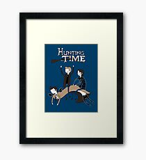 Hunting Time. Framed Print