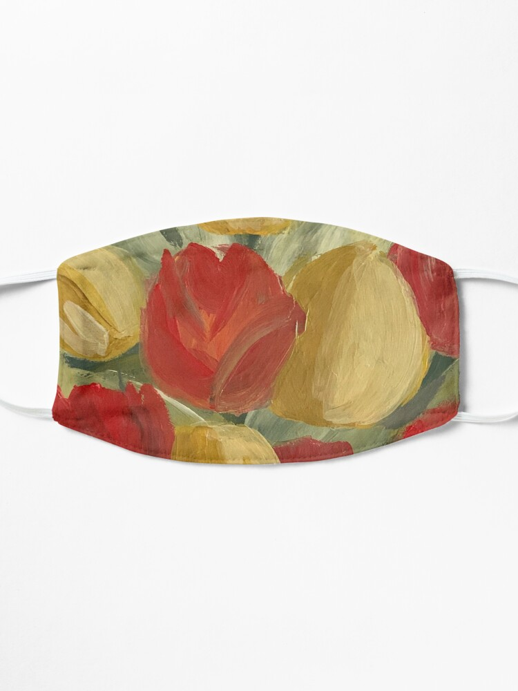 Alternate view of Tulips Mask