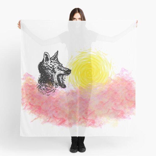 Wolf  Scarf