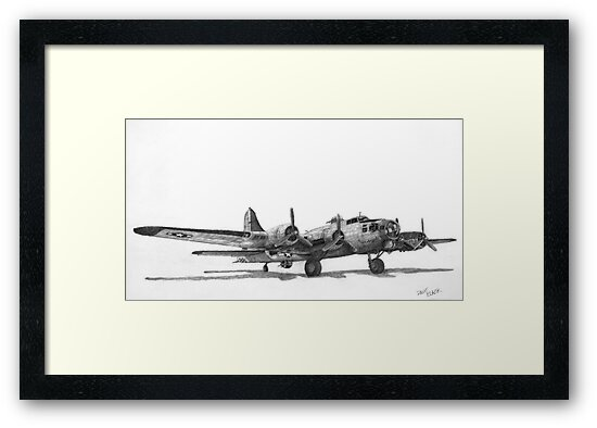 "Boeing B-17G ""Miss Angela"" by Dave Black"