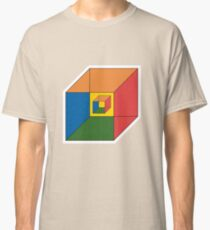 BEWARE HYPNO-CUBE color version Classic T-Shirt