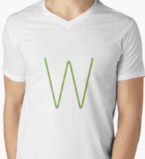 SISTEMA A I Mens V-Neck T-Shirt