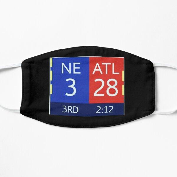 The Falcons 28-3 Lead Flat Mask