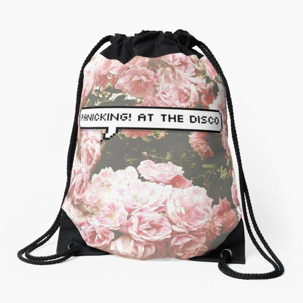 panicking! at the disco Drawstring Bag