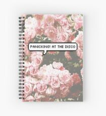 panicking! at the disco Spiral Notebook