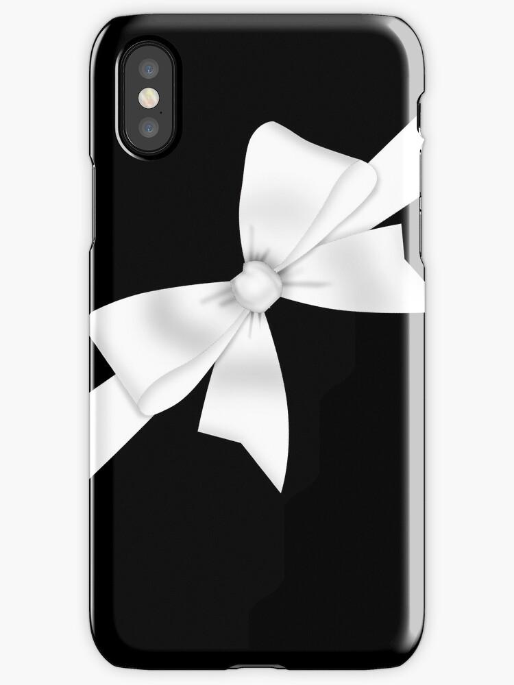 Elegant White Bow by GirlyGirl
