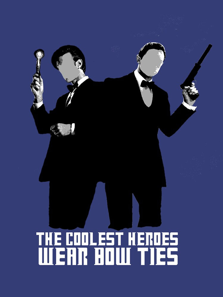 The Coolest Heroes Wear Bow Ties | Unisex T-Shirt