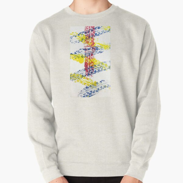 Colored Ways Pullover Sweatshirt