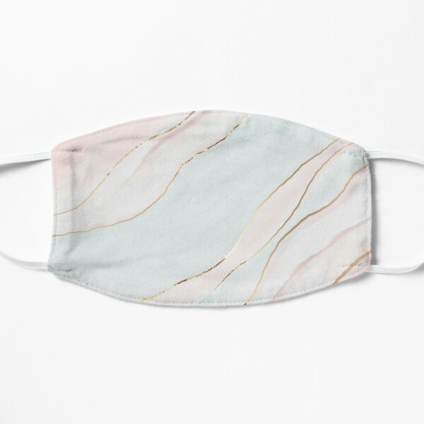bloom daily planners ethereal marble Flat Mask