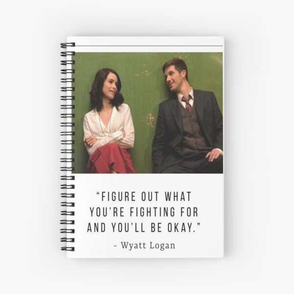Lyatt Quote | Timeless Spiral Notebook