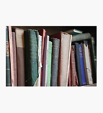 Books to read. Photographic Print