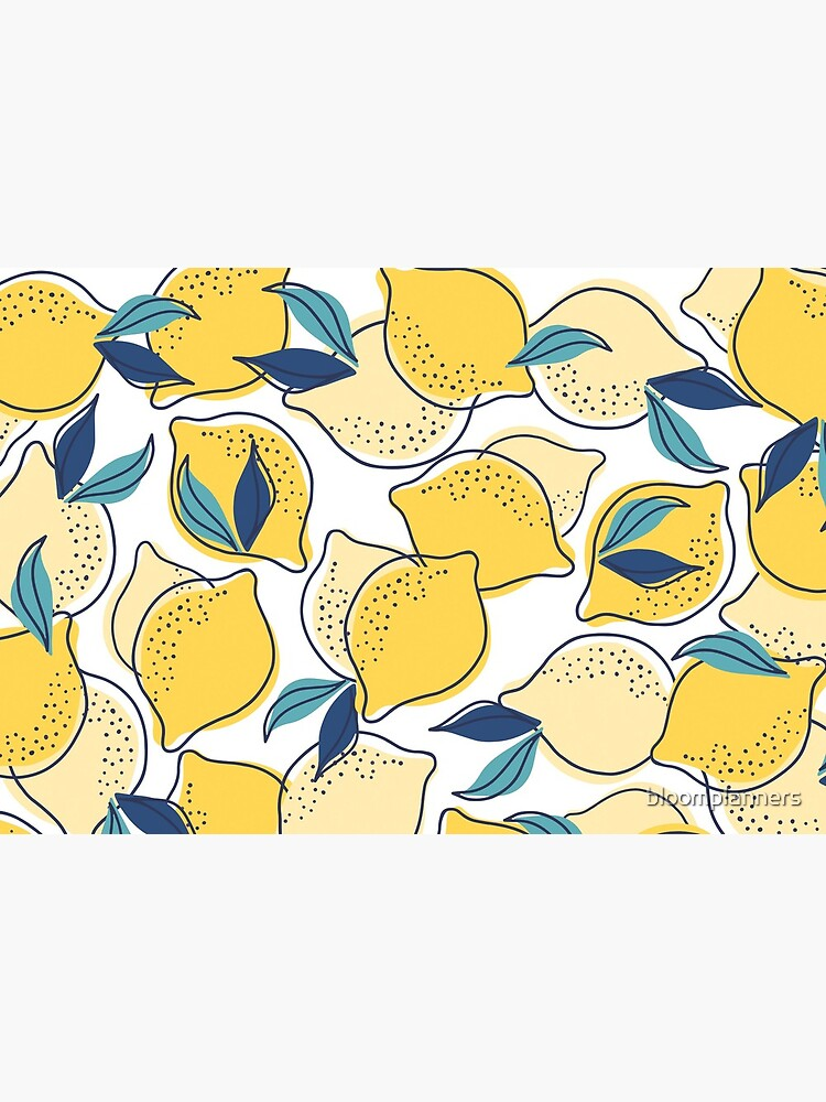 bloom daily planners lemons by bloomplanners