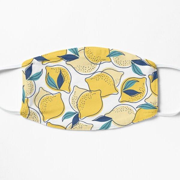 bloom daily planners lemons Flat Mask