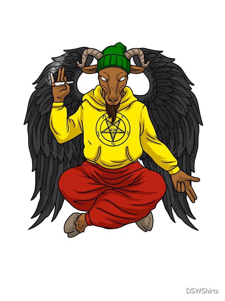Smoke Weed Hail Satan Tshirt Men Cannabis Shirt Women Stoner Kids