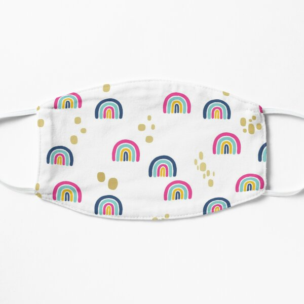 bloom daily planners rainbows Mask