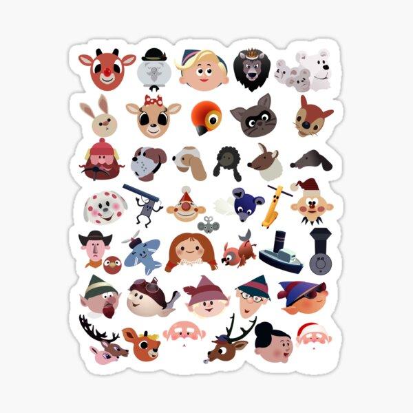 Rudolph Iconography Sticker