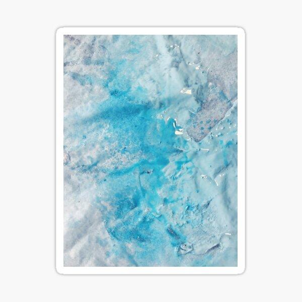 Celestite Crystal Acrylic & Ink Sticker