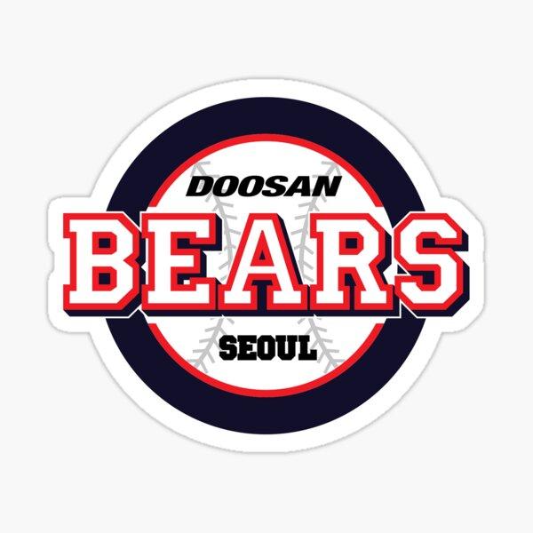 Doosan Bears Seoul KBO Logo Sticker