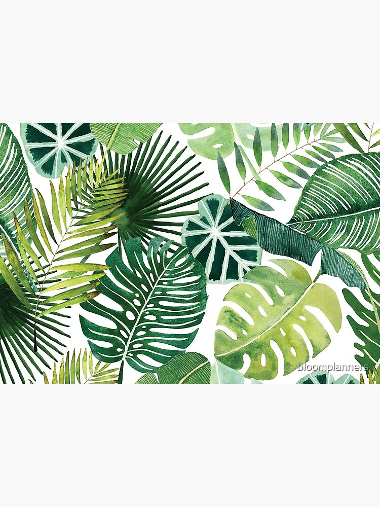 bloom daily planners tropical palm leaves by bloomplanners