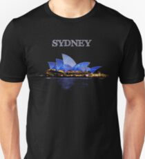 Sydney Opera House - White ink Unisex T-Shirt
