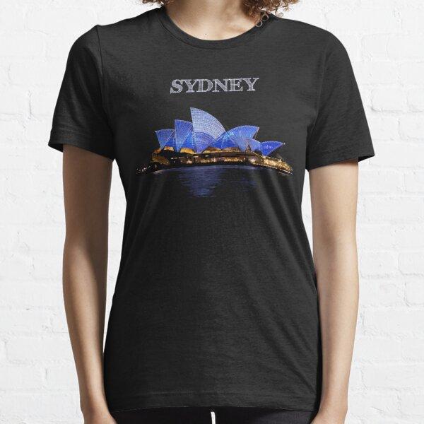 Sydney Opera House - White ink Essential T-Shirt