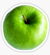 Green Apple Sticker