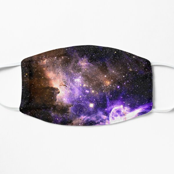 Vibrant Nebula Flat Mask