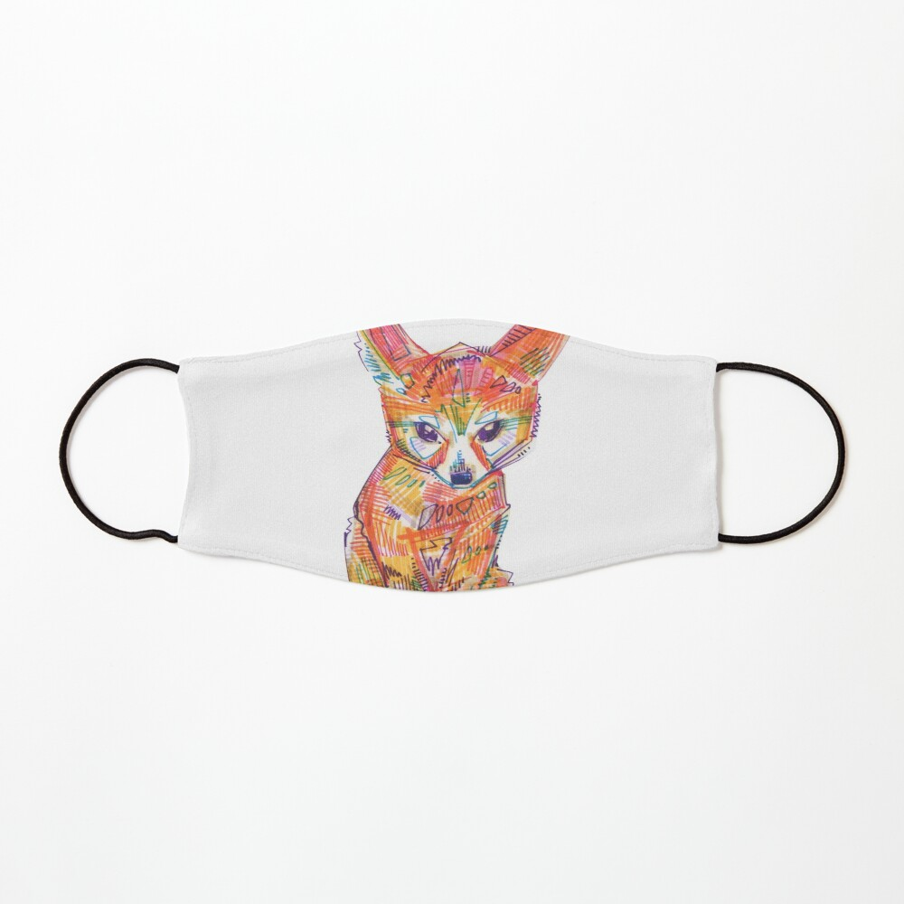 Fennec Fox Drawing - 2016 Mask