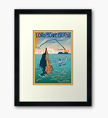 Lord Howe Island Francis Chichester's Gipsy Moth Framed Print