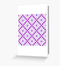 Knittimg pattern Greeting Card