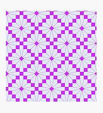 Knittimg pattern Photographic Print
