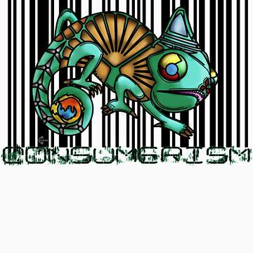 Consumerism Chameleon by BFGSM0121