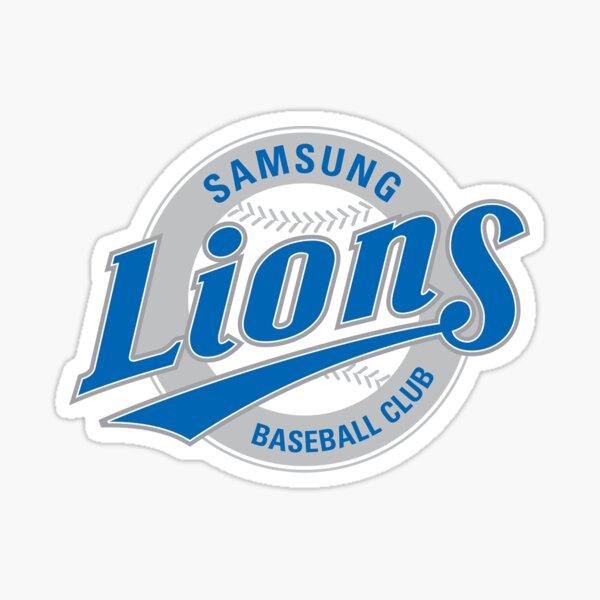 Samsung Lions Seoul KBO Logo Sticker
