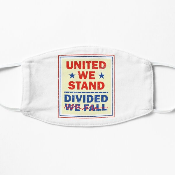 United We Stand the Late Show Stephen Colbert Governor Flat Mask