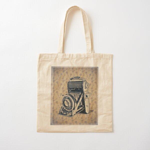 Welta Camera - Vintage Color Cotton Tote Bag