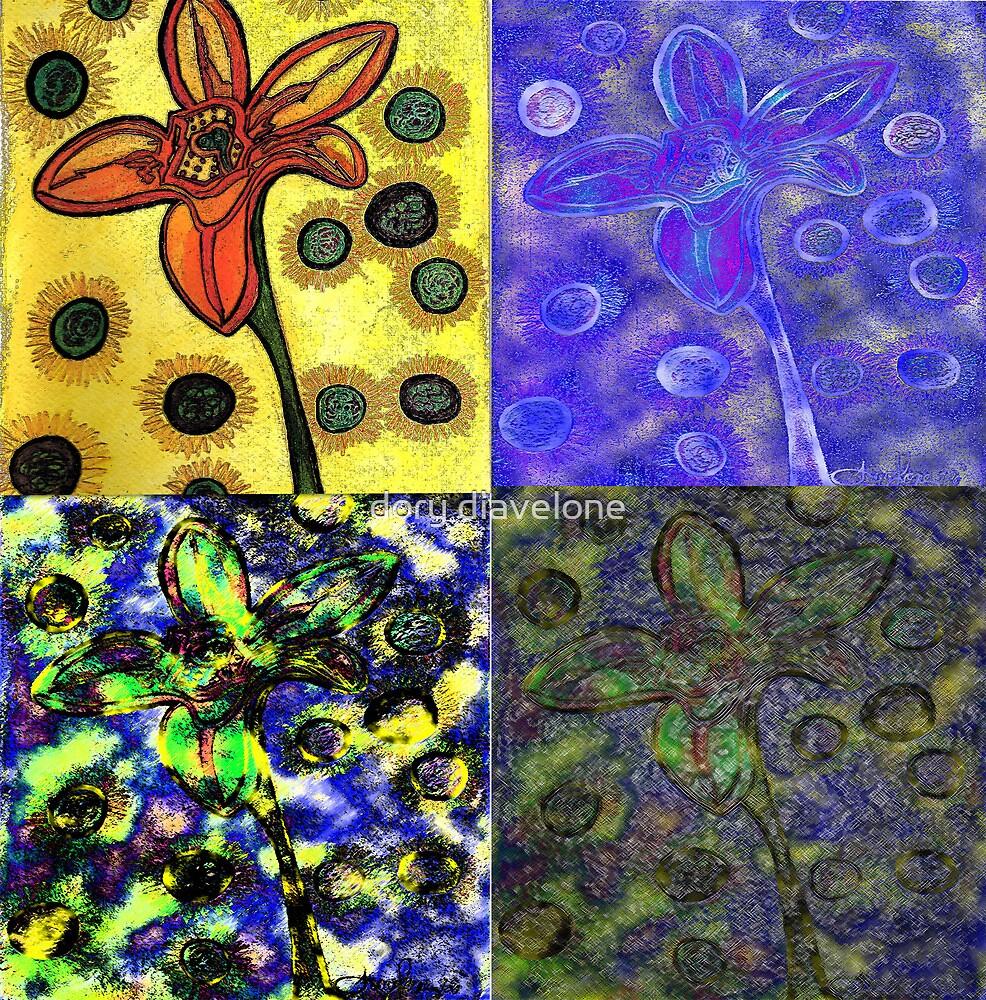 Fab Four Flower by doryd