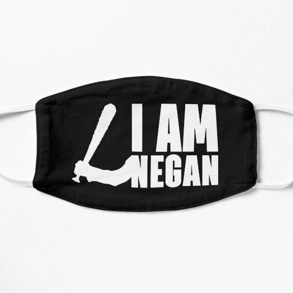 JE SUIS NEGAN - The Walking Dead - Blanc Masque sans plis