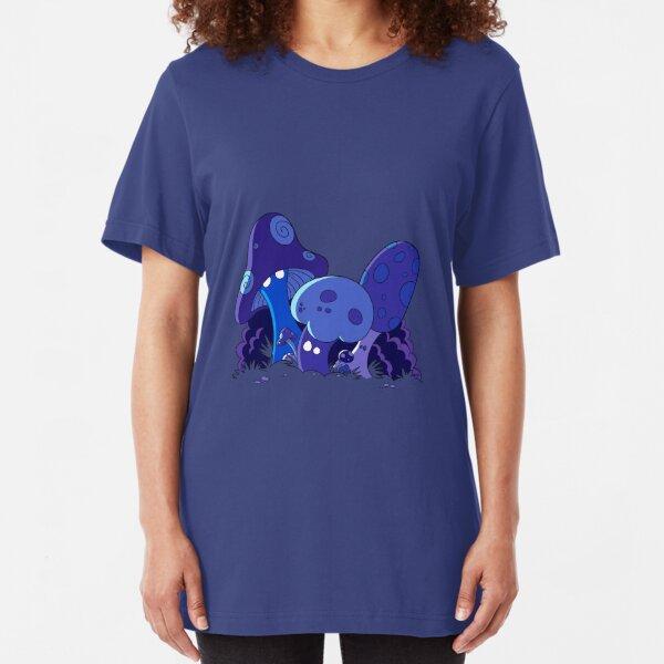 Mushrooms Slim Fit T-Shirt