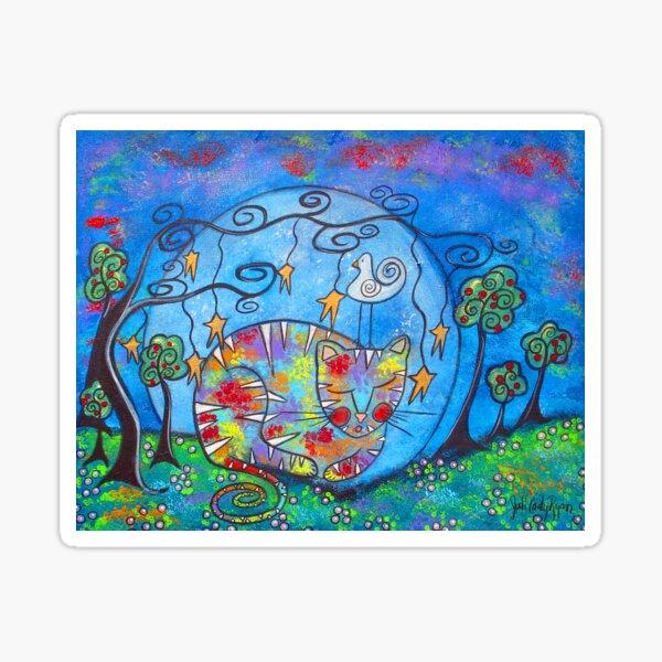 Kitty Dreams II Sticker