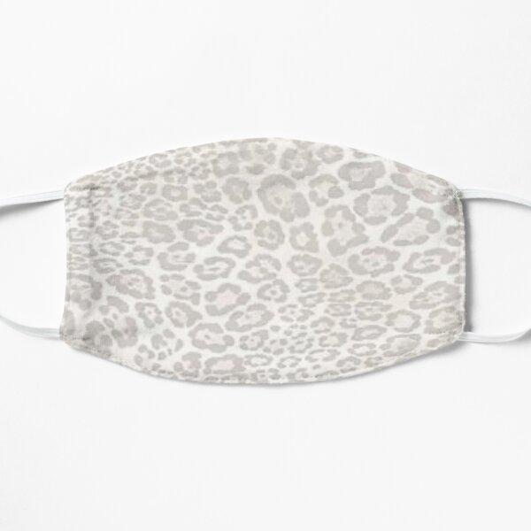 Light cheetah print design Flat Mask