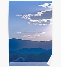 Kunming Lake, Yuquan Hills and the West Mountians Poster