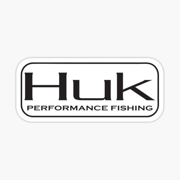 HUK Performance Fishing Sticker Sticker