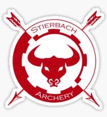 Stierbach Archery Sticker