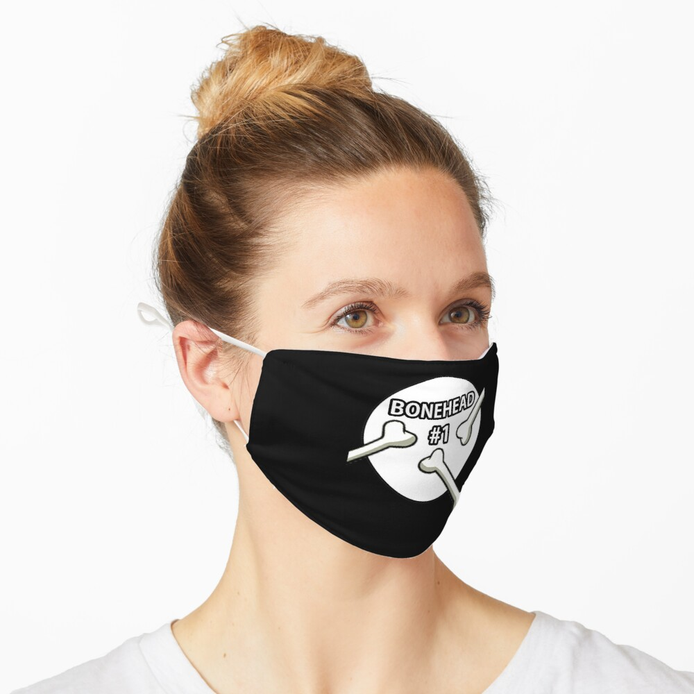 Bonehead #1 Design  Mask