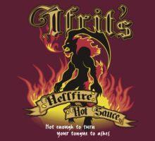 Ifrit's Hellfire Hot Sauce | Unisex T-Shirt