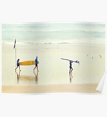 Seaspray - Colour Poster
