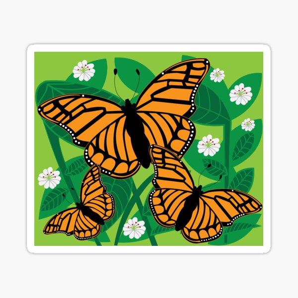 Viceroy Butterfly Sticker